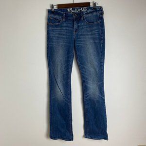 Madewell Long Length Flared Jeans